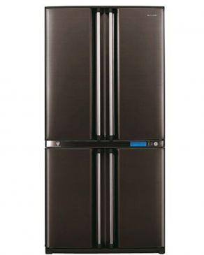 Sharp Refrigerator SJ-F78SP-BK 605L