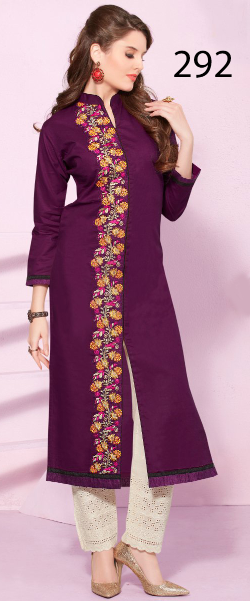 Latest Designers Kurti party wear ladies salwar suits 292
