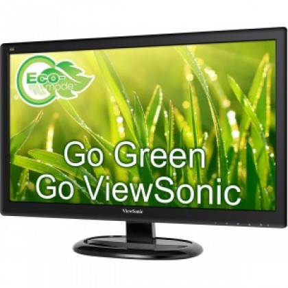 "Viewsonic 22"" 16:9 Full HD Monitor with SuperClear® VA technology and both VGA/HDMI input"