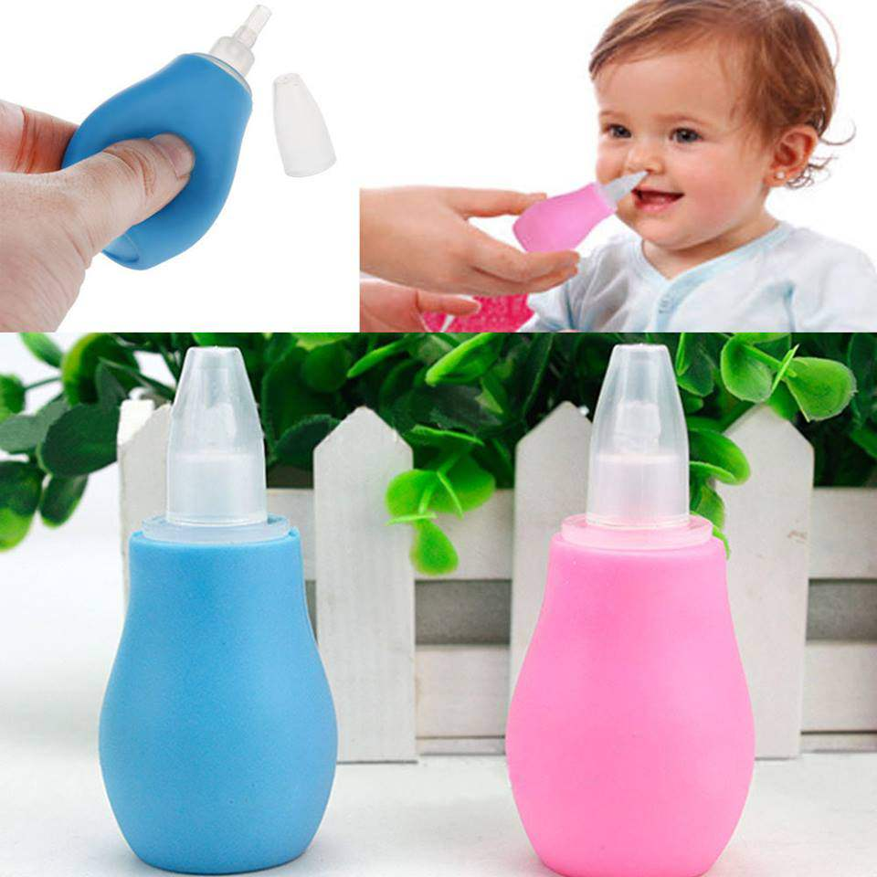 Cleaner Nasal Vacuum Mucus Suction Aspirator Soft Tip