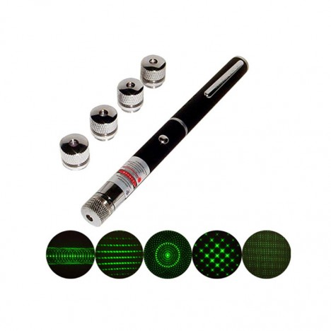 Green Laser Pointers 5-In-1