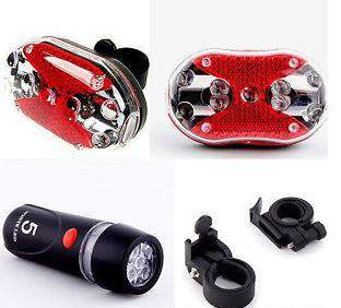 LED HEAD & BACK LIGHT FOR BICYCLE