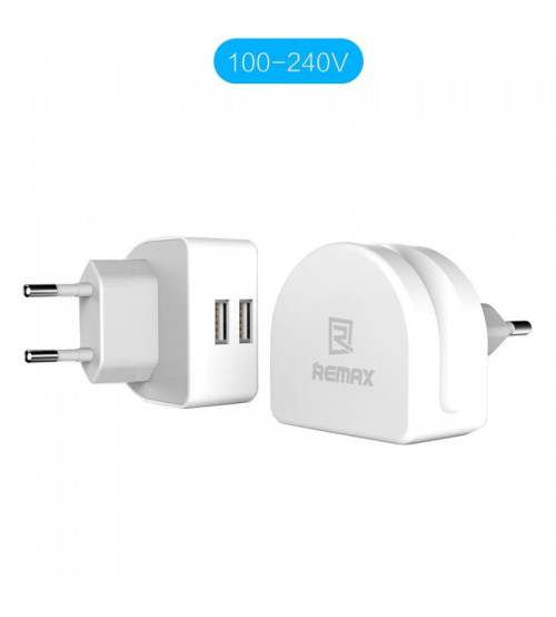 REMAX RMT7188 Dual USB 2.1A Charger Adapter