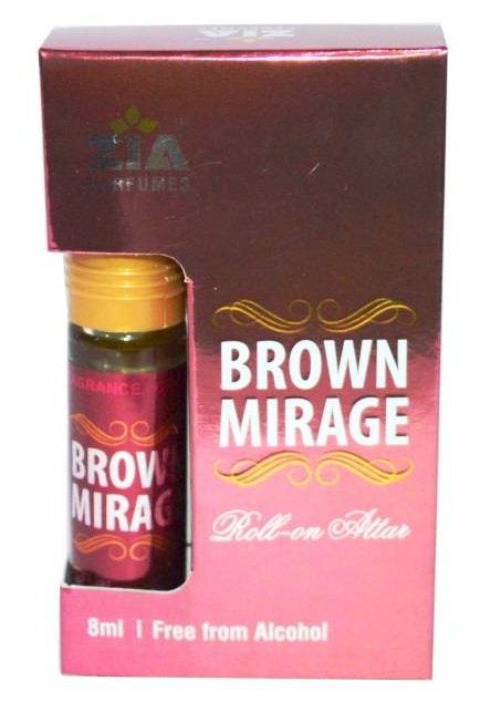 Zia Royal Brown Mirage edition pure Floral Attar (Musk)
