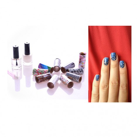 FabFoils Salon Style Nail Foil Kit