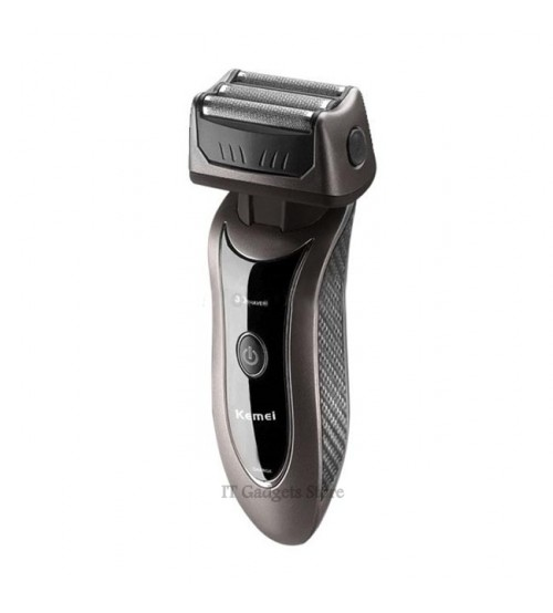 Kemei KM-9001 Rechargeable Three Head Shaver