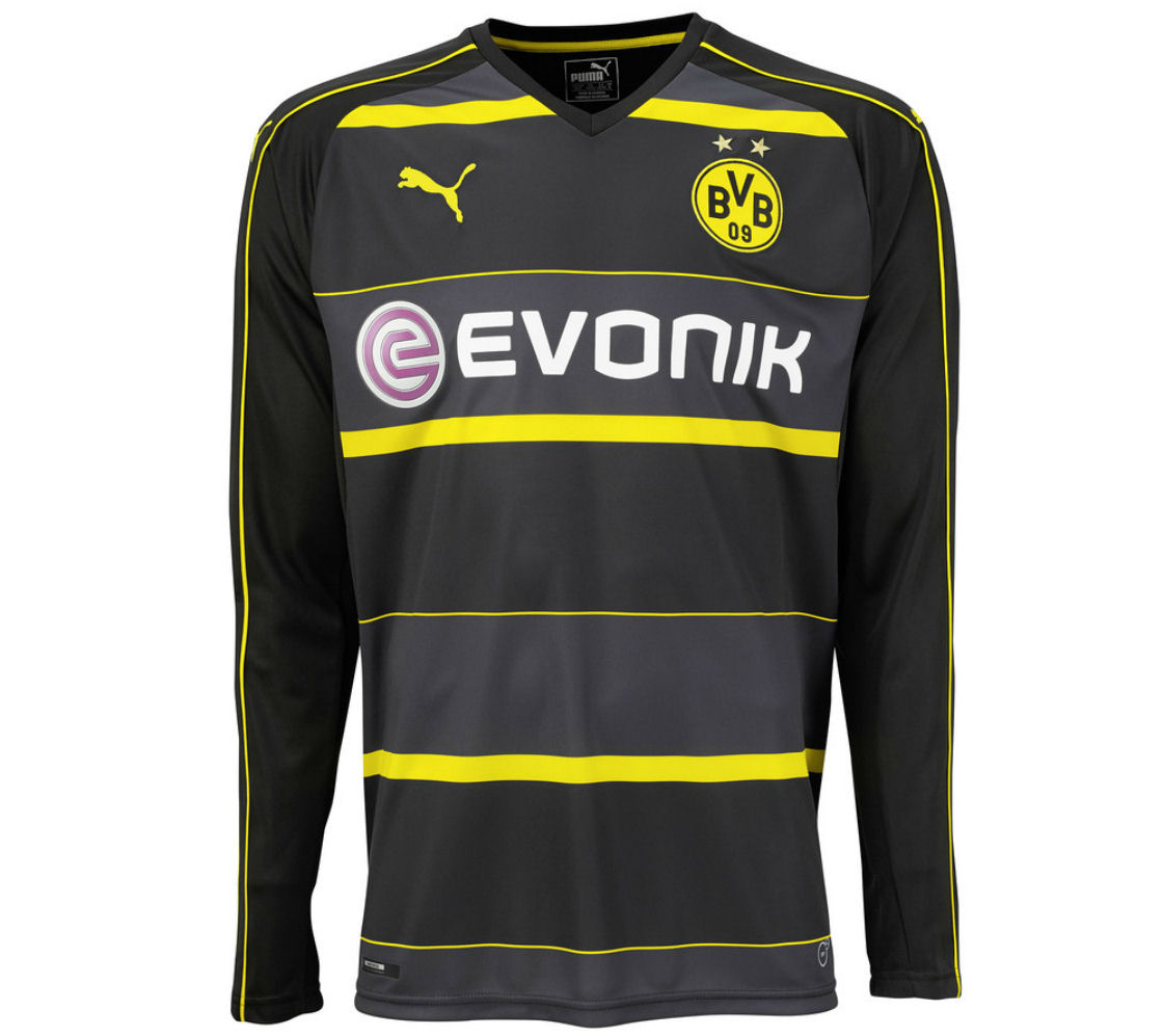 ab170c21 Borussia Dortmund Away Jersey full sleeve 2016-17 : Online shopping store,  to buy cheap rate saree salwar kameez ornaments watches gents dress  electronics ...