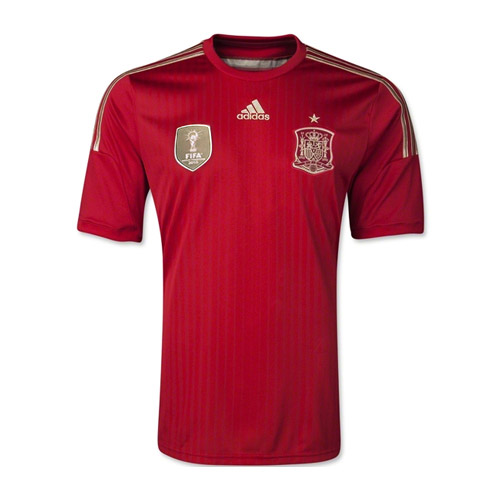 Spain World Cup Home Jersey