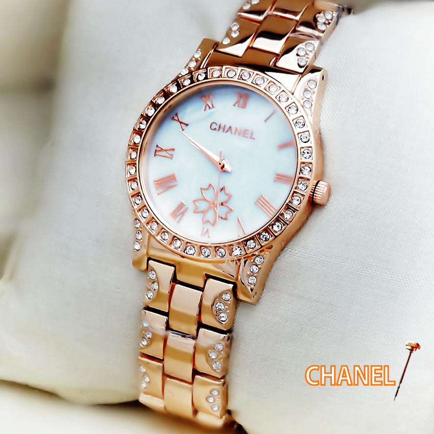 18cba3ab6 CHANEL White Dial Women's Wrist Watch : Online shopping store, to buy cheap  rate saree salwar kameez ornaments watches gents dress electronics  household ...