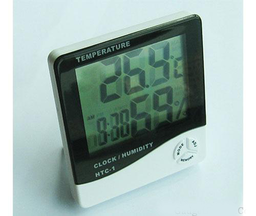 DIGITAL LCD DISPLAY OPERATION MANUAL FOR TEMPERATURE & HUMIDITY METER