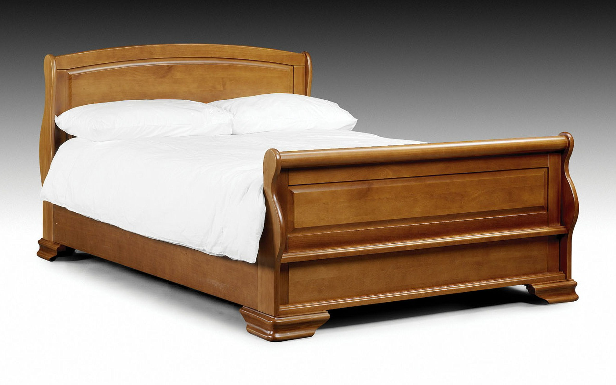 Marvelous photograph of Brown Solid Wooden Bed with natural lacquer spray Home Furniture with #754118 color and 2368x1479 pixels