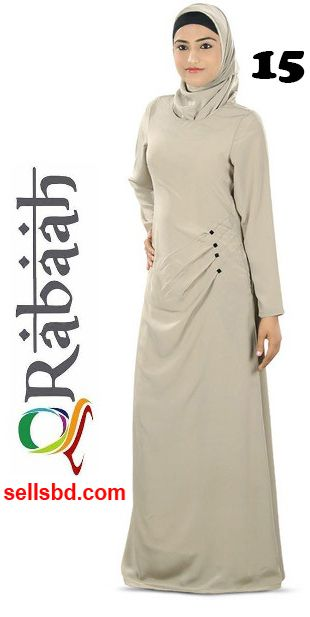 Fashionable muslim dress islamic clothing Rabaah Abaya Burka borka 15