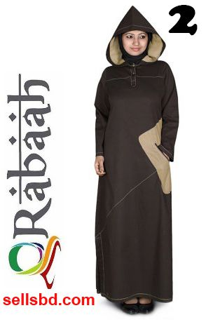 Fashionable muslim dress islamic clothing Rabaah Abaya Burka borka 02