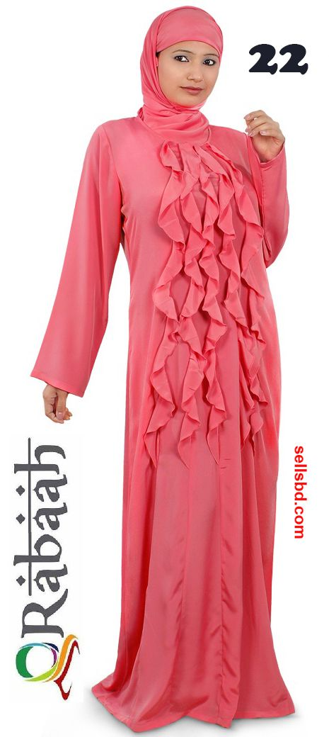 Fashionable muslim dress islamic clothing Rabaah Abaya Burka borka 22