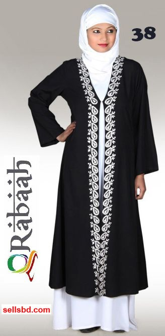 Fashionable muslim dress islamic clothing Rabaah Abaya Burka borka 38
