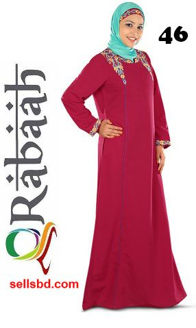 Fashionable muslim dress islamic clothing Rabaah Abaya Burka borka 46