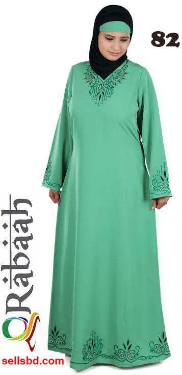 Fashionable muslim dress islamic clothing Rabaah Abaya Burka borka 82