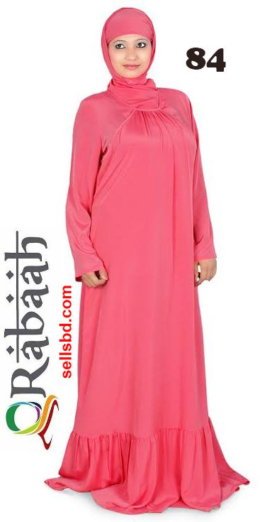 Fashionable muslim dress islamic clothing Rabaah Abaya Burka borka 84