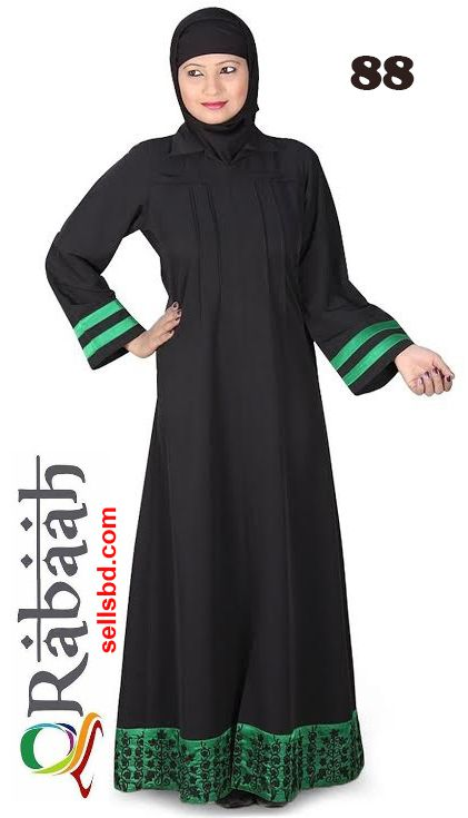 Fashionable muslim dress islamic clothing Rabaah Abaya Burka borka 88