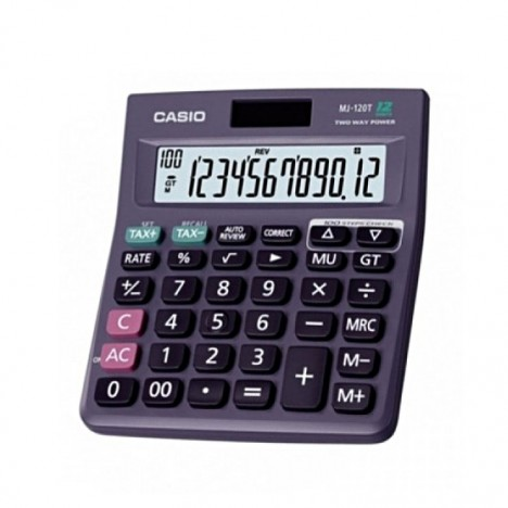 Casio Calculator MJ 120D