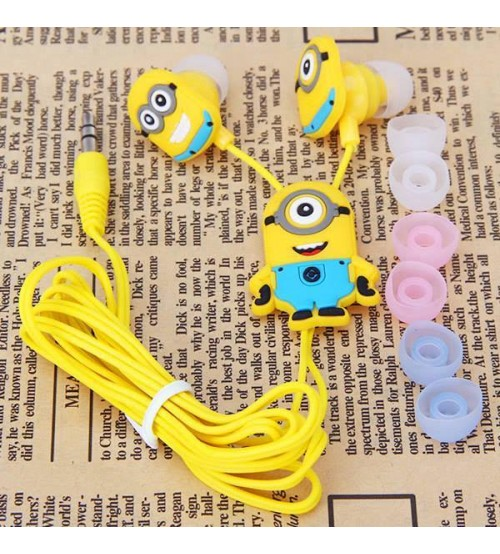 Despicable Me Minion 3.5mm In-Ear Earphones