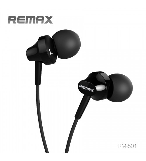 Remax RM-501 Super Bass Earphone with Mic