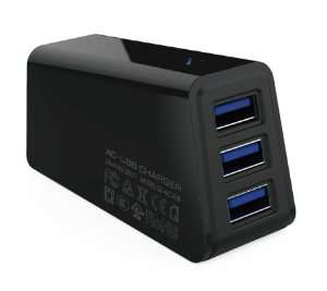 TRIPLE USB WALL LDNIO , TRAVEL UNIVERSAL CHARGER