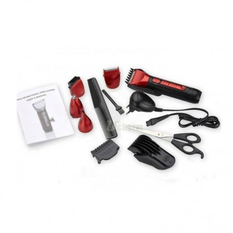 Kemei Rechargeable 5 In 1 Shaver & Trimmer