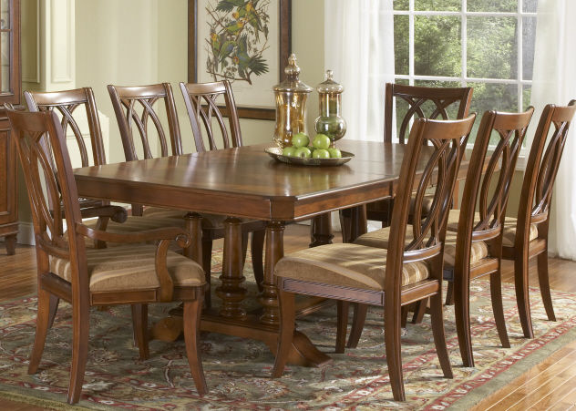 Dining Table With 8 Chair Formal Room Set