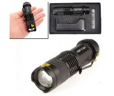 mini rechargeable torch light