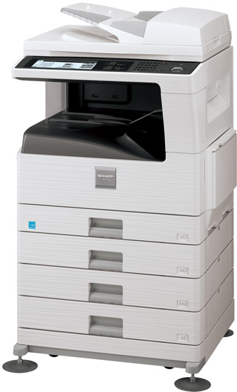 Sharp AR-5731 Multifunctional Photocopier With A3 Color Scanner + Laser Printer
