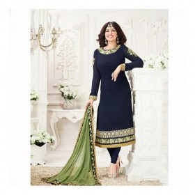 Ayesha georgette with embroidery 21002R Replica