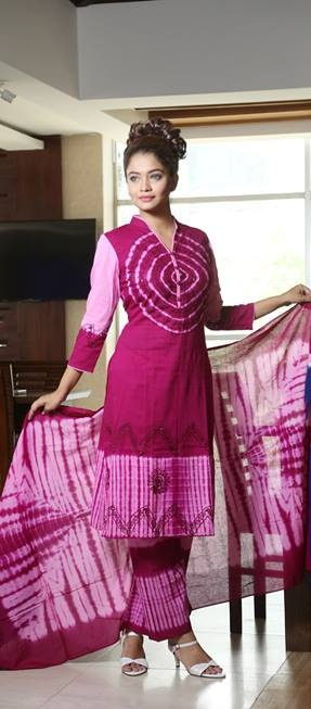 Embroidered salwar kameez S-183