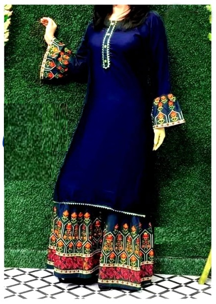 New Style Georgette Three Piece For Women rb-70 -Free Size