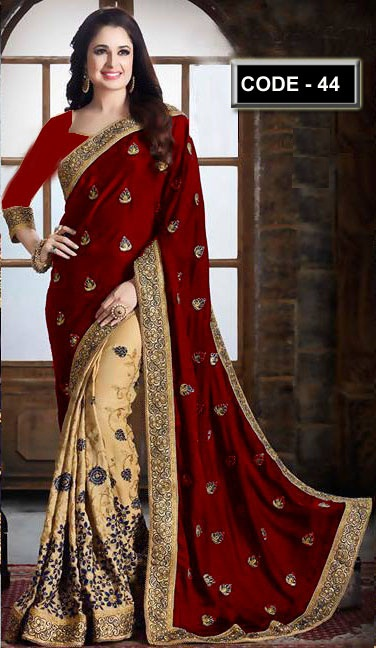 Weight Less Georgette saree Hp-44