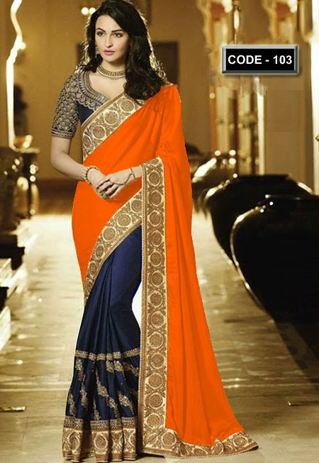 Weight Less Georgette saree Hp-103