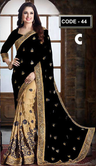 Weight Less Georgette saree Hp-44_C