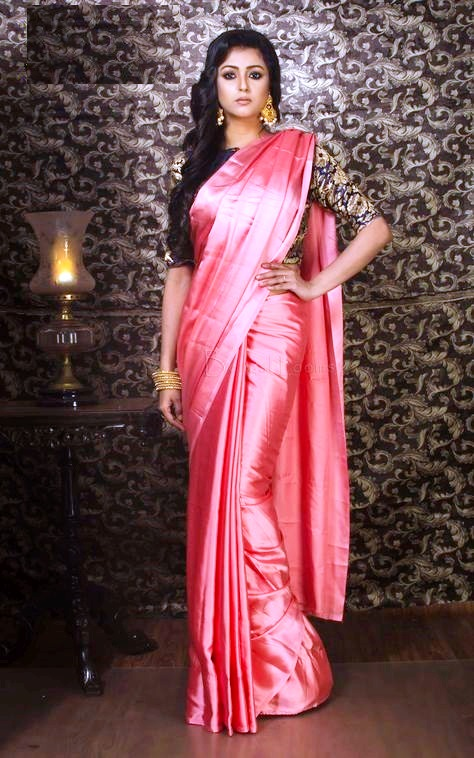 satin silk saree satin silk 16