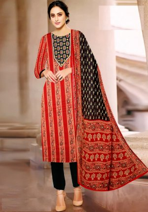 Unstitched Suti Party Wear Designer Suti Salwar Suit