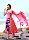 unstitched Block printed cotton replica salwar kameez